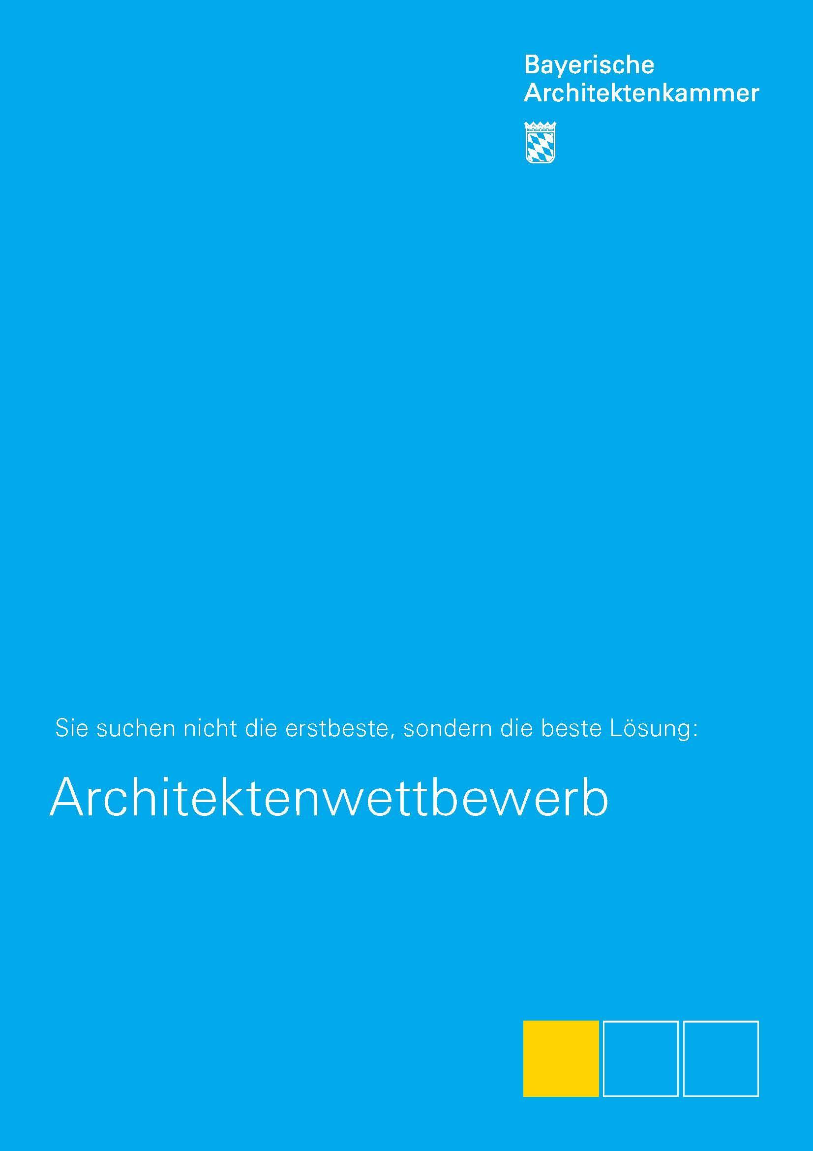 Arbeitsmaterialien Bayerische Architektenkammer