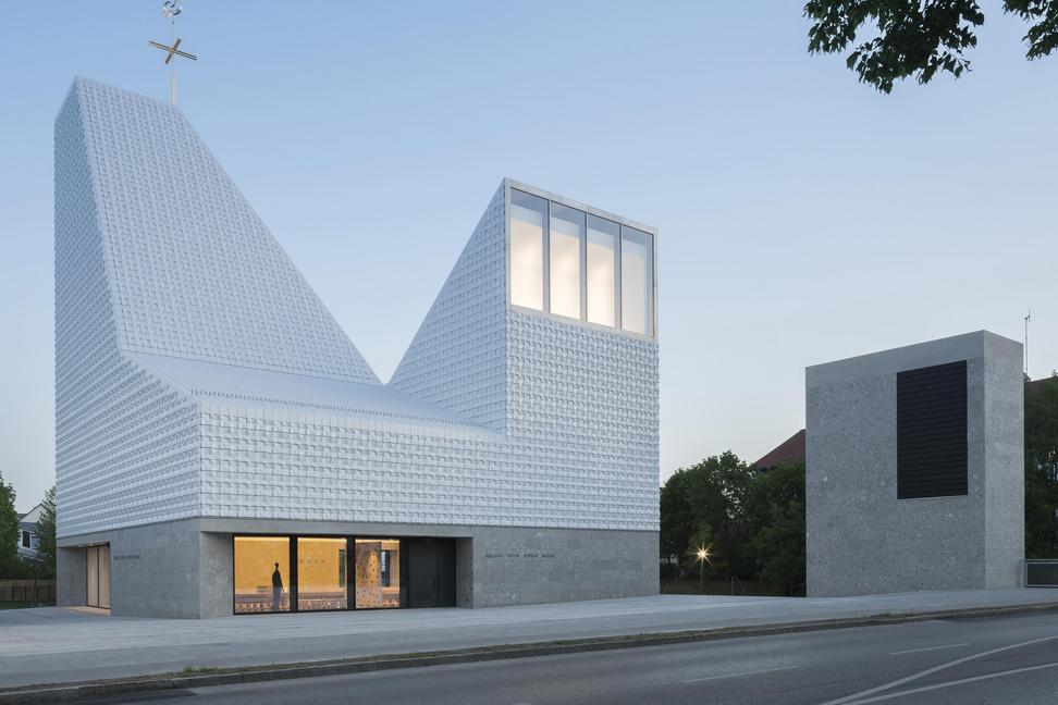 Kirchenzentrum Poing; Meck Architekten, München