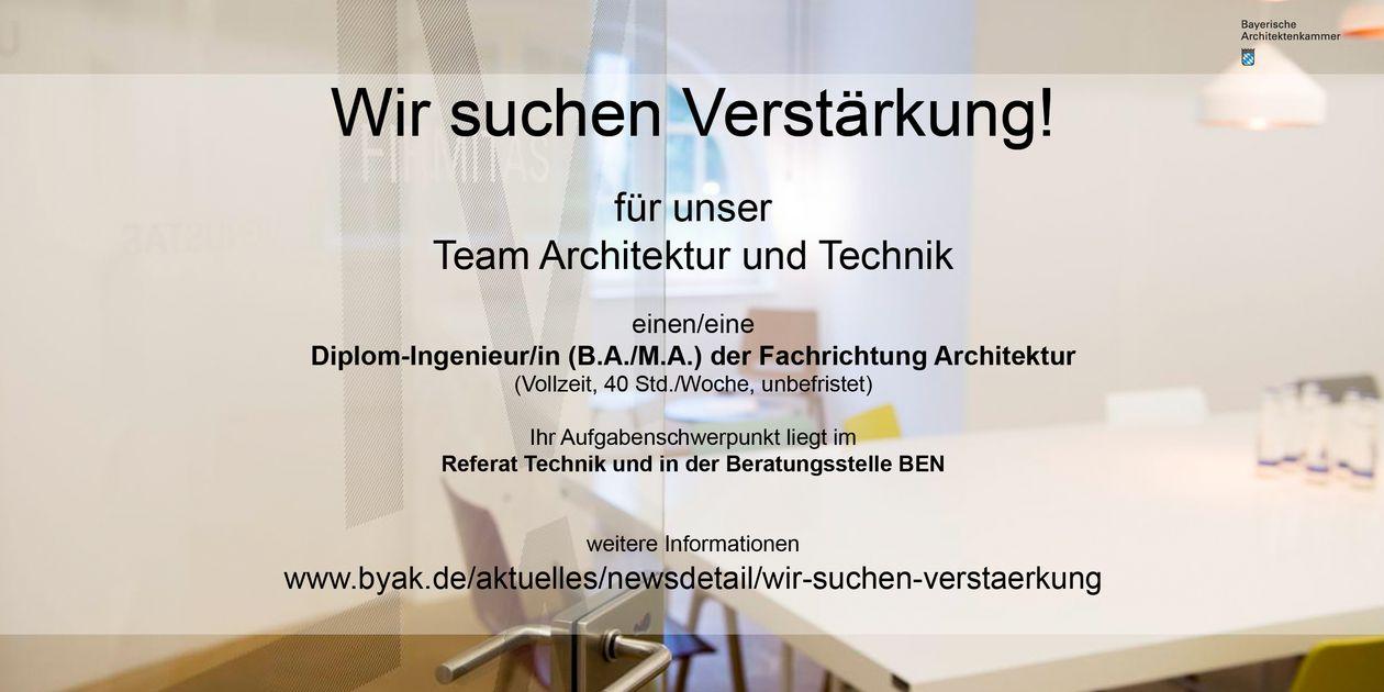 Faszinierend Architekt Suchen Das Beste Von Die Bayerische Architektenkammer РK̦rperschaft Des ̦ffentlichen